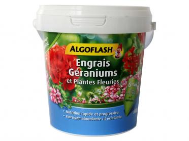 Pour géraniums et plantes fleuries