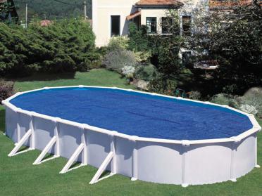 Bâche été pour piscine ovale