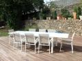 A associer avec les fauteuils Capri blanc / beige