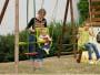 Siège bébé pour portique bois