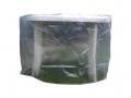 Housse de protection translucide table ovale 180 x 100 cm