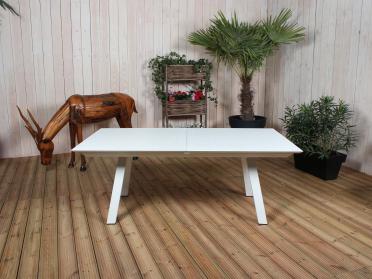 Table FLORES blanc