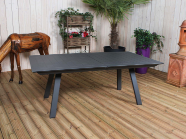 Table FLORES anthracite