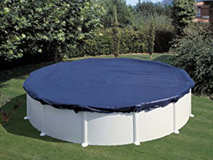 b che hiver pour piscine ronde. Black Bedroom Furniture Sets. Home Design Ideas