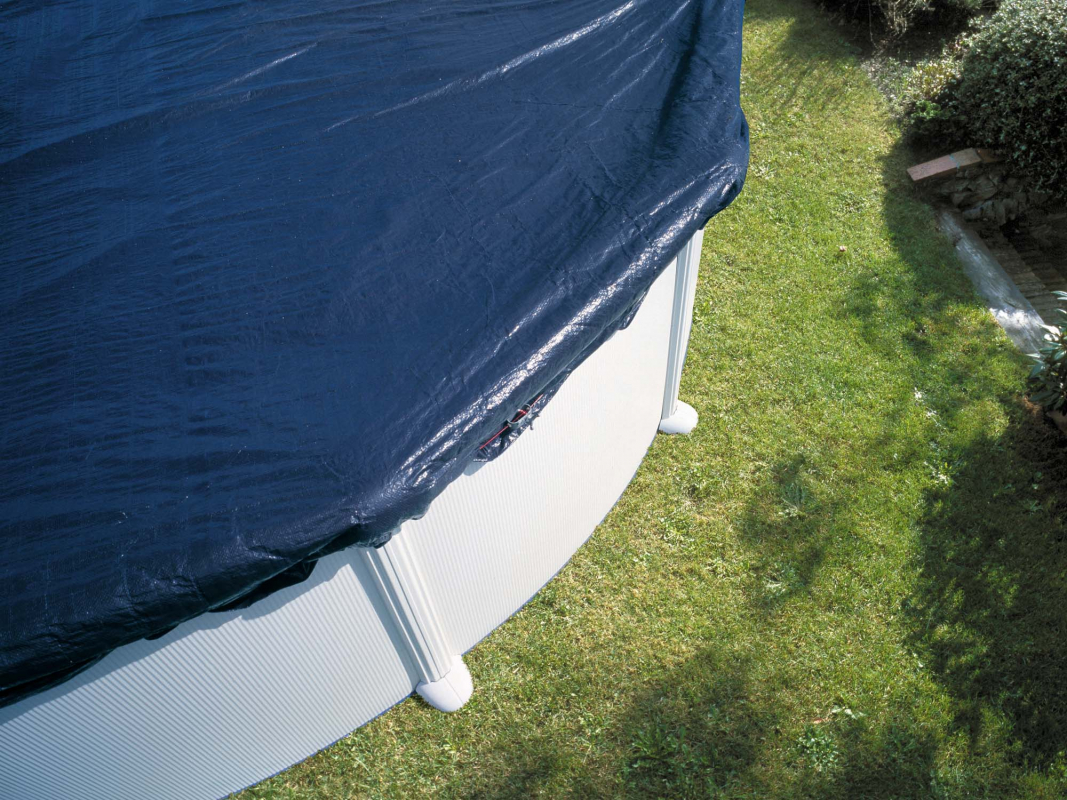 b che hiver pour piscine ovale. Black Bedroom Furniture Sets. Home Design Ideas