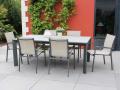 A associer avec la table Firenze anthracite / beige