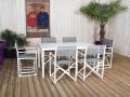 A associer avec la table rectangulaire avec lattes coloris crème