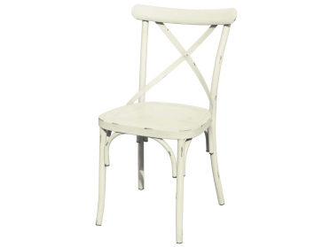 Chaise VINTAGE crème