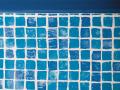 Coloris carrelage bleu