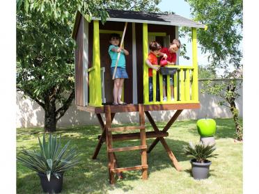 Maisonnette bois CABANE DANS LES ARBRES