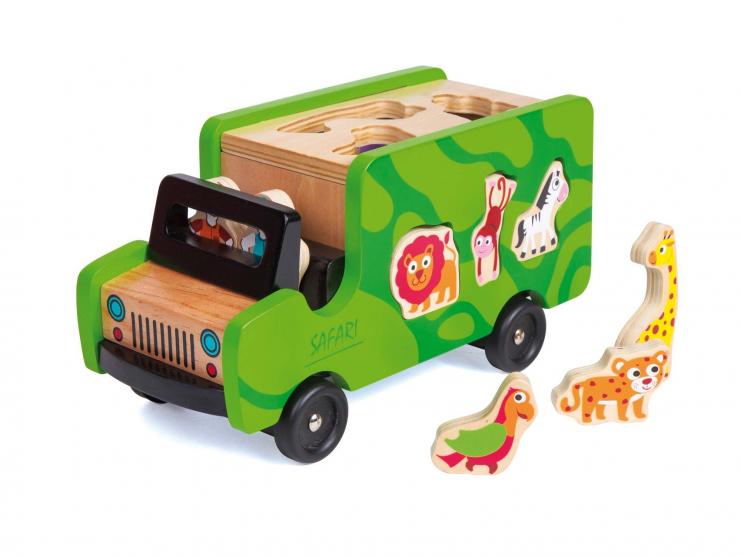 Boîte à formes Safari