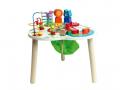Grande table d'activités en bois pour enfant