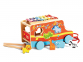 Camion d'activités jouet à tirer