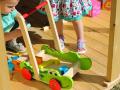 chariot de marche Pousse-Croco