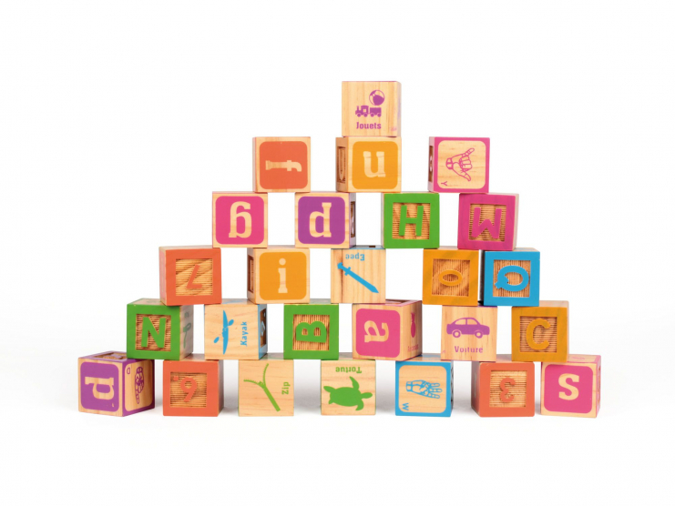 KIOOBZ Cubes Gravés