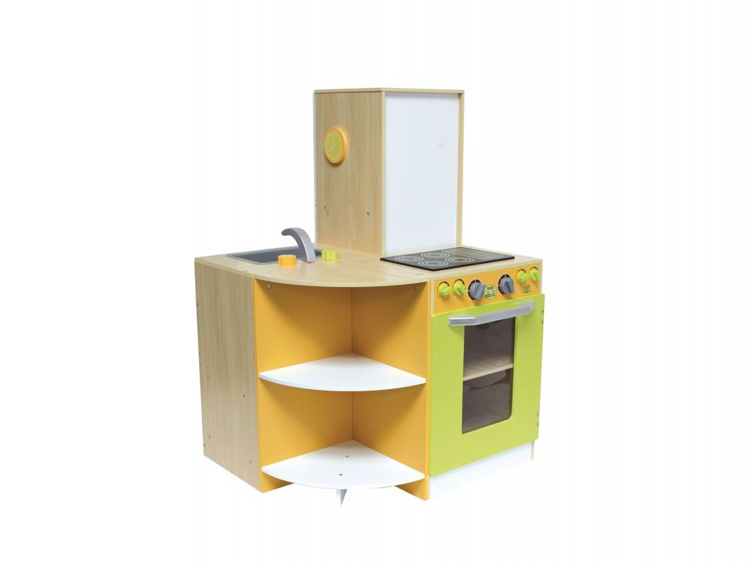 Grande cuisine modulable en bois pour enfant - Cuisine modulable ...