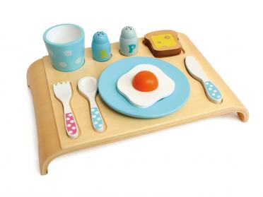 Plateau du petit déjeuner