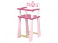 Chaise haute en bois Princesse