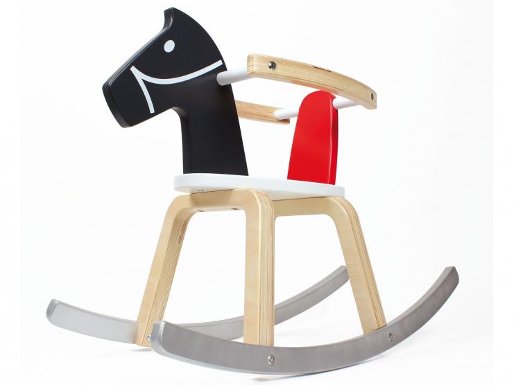 cheval bascule en bois pour enfant. Black Bedroom Furniture Sets. Home Design Ideas
