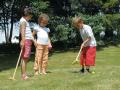 Croquet 4 joueurs en sac