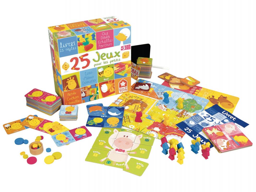 25 jeux pour les petits. Black Bedroom Furniture Sets. Home Design Ideas