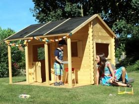 Maisonnette en bois CONSTANCE