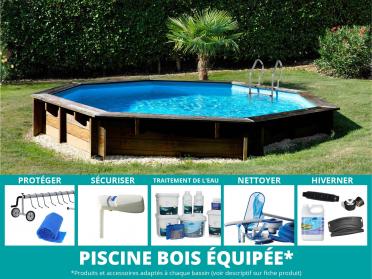 piscine bois violette toute équipée sunbay