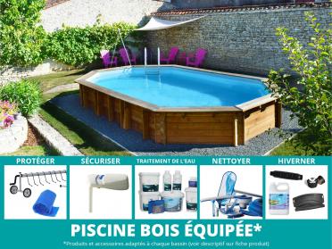 piscine bois bogota toute équipée