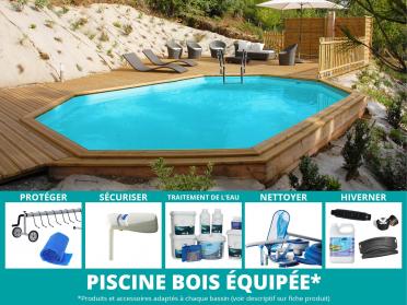 Votre piscine toute équipée !