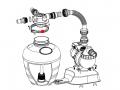 Collier de serrage pour groupe de filtration SUNBAY