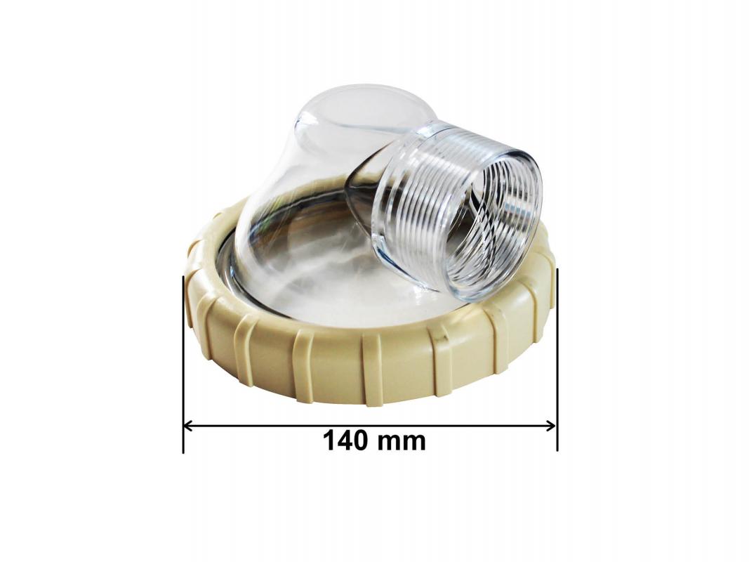 Couvercle de prefiltre pour pompe sunbay - Pieces detachees pompe piscine ...