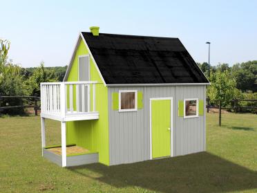 Maisonnette en bois alaria de jardimagine