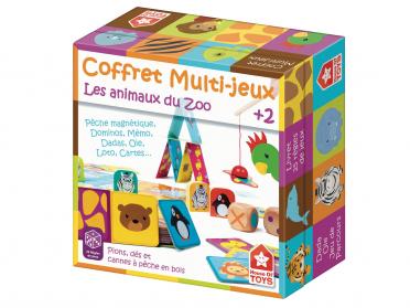 Coffret 25 jeux du zoo