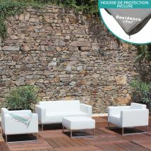 Salon de détente pour extérieur jardin