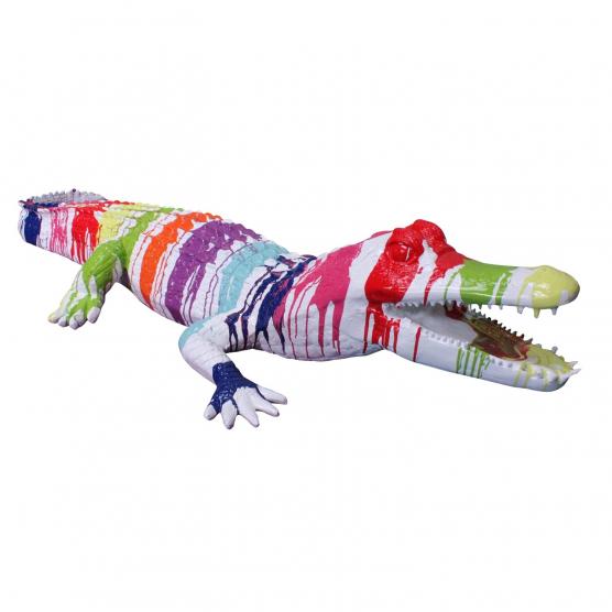 Crocodile 210 x 77 x H. 37 cm