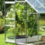 Serre de jardin avec porte coulissante