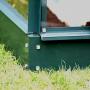 serre de jardin merkur 8300 serre en verre trempé 3 mm
