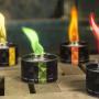 Color Torch avec flamme verte