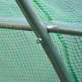 Bâche armée verte en toile PE 140 g/m²