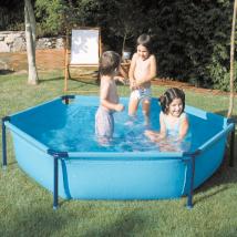 Piscine pour enfants Ø 2,15m - H. 45 cm WET230 gré