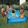 Piscine tubulaire pour enfants L. 125 x l. 125 x H. 35 cm