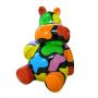 Hippopotame trash design noir