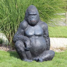 Gorille assis 70 x 82 x 115 cm