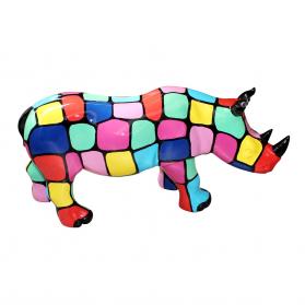Rhinocéros 69 x 22 x 34 cm
