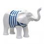 Elephant marinière bleue