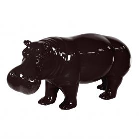 Hippopotame Noir 173 x 65 x 83 cm