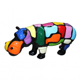 Hippopotame 70 x 20 x H. 35 cm