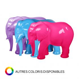 Éléphant 76 x 34 x H. 59 cm