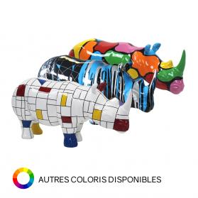 Rhinocéros 48 x 91 x 35 cm