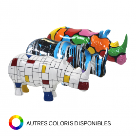 Rhinocéros marinière rouge
